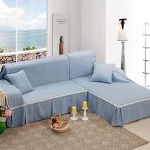 High Quality Cotton Linen Slipcover Sofa Cover Furniture Couch Settee Protector for 1/2/3/4 Seater Covers Living Room