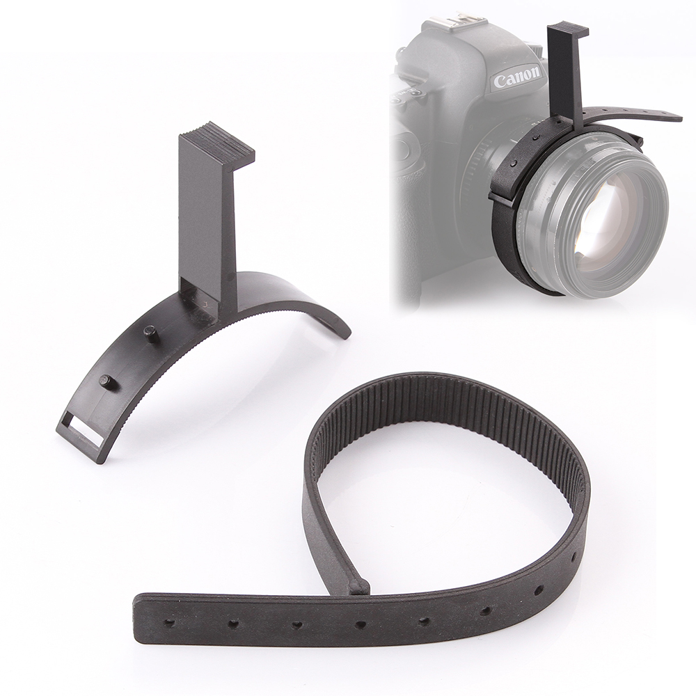 Durable Gear Ring Belt w/Hand Zoom Controller For 80-100mm Follow Focus DSLR Lens