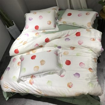 Fashion cute bedding set adult teen child kid girl,full queen king trend double home textile flat sheet pillow case quilt cover