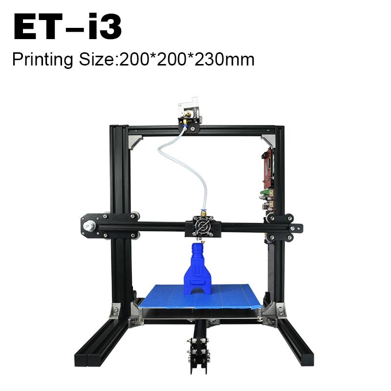 2017 Mini 3D Printer Imprimante 3D Printing Machine Digital Printing Machine Price 3D Printer Best Price Metal Stable Frame