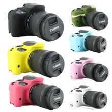 New Soft Camera Silicone Case Rubber Protective Body Cover bag Skin for