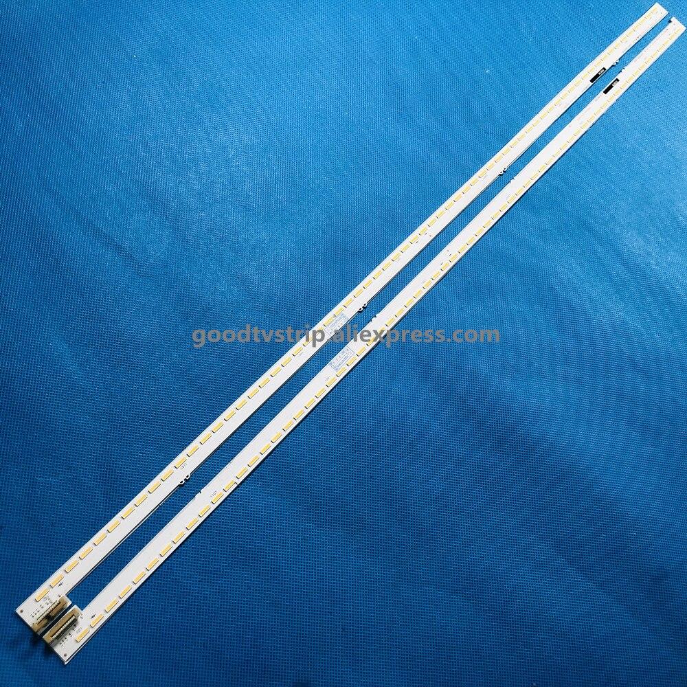 2 peçasset tira Retroiluminação LED para KD