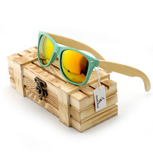 Hot Selling Wood Bamboo Sunglasses Women's Cute Eyewear Sun Glasses Handmade Cheap Sunglasses BS012
