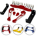 Motorcycle CNC Aluminum License Plate Bracket Licence Plate Holder Frame Number Plate For kawasaki z250sl z300 yamaha r15 r25 r3