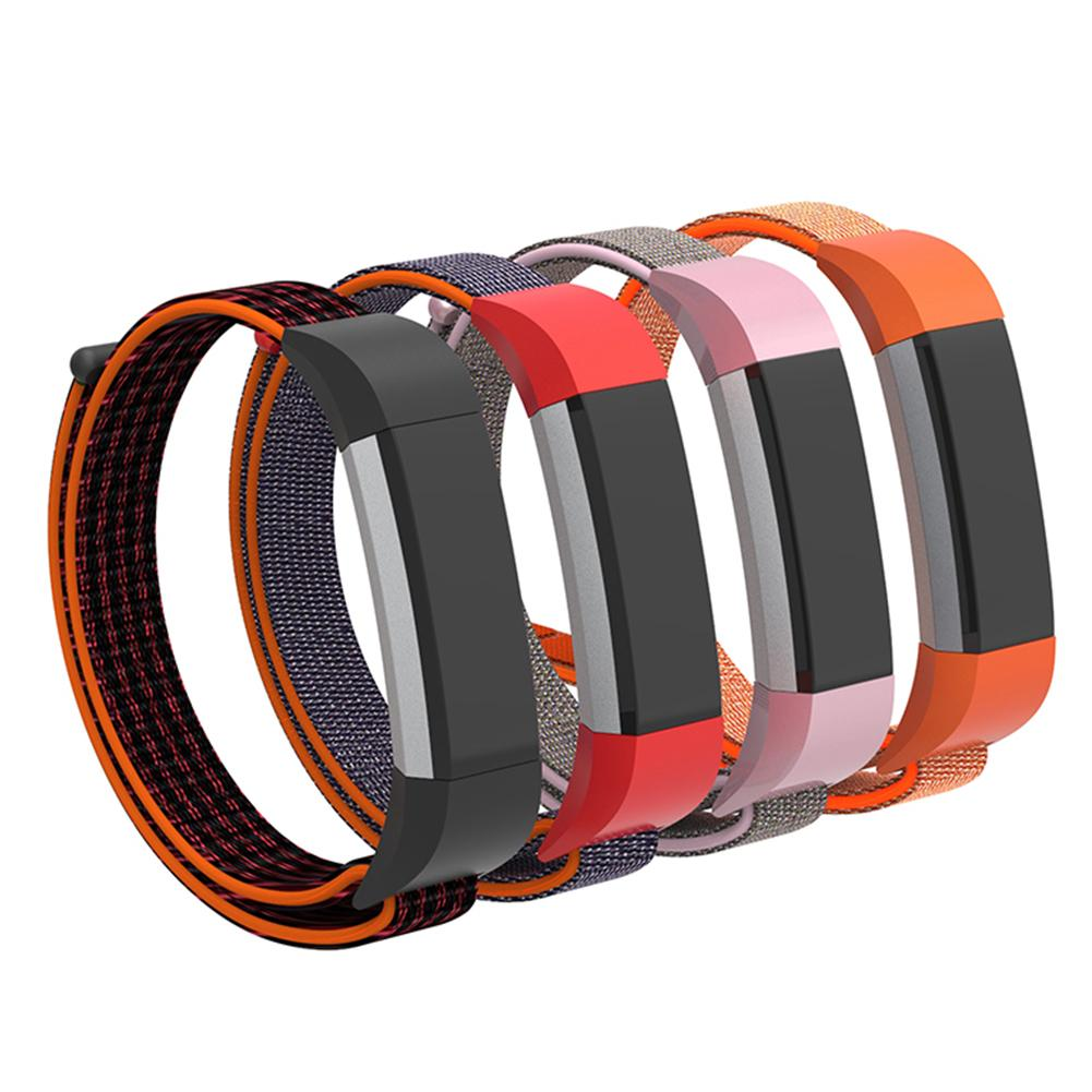 Replacement Nylon Breathable Watchband Wrist Strap Band for Fitbit Ace/Alta image