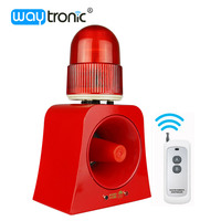 Industrial Audible And Visual Alarm Device 100m Wireles Remote Control Beacon Siren Download Alarm Sound From