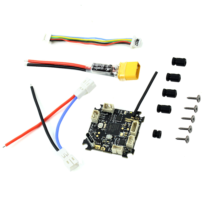 Happymodel Crazybee F4 Pro V2.1 2 3S Compatible Flight Controller for Sailfly X FPV Racing Drone Frsky/Flysky/DSM X Protocol RX-in Parts & Accessories from Toys & Hobbies    1