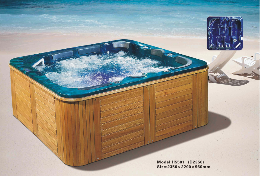 Delux outdoor spa whirlpool portable bathtub/spa whirlpool bathtub ...