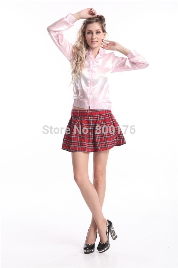 Online Buy Wholesale grease pink ladies jacket from China grease ...