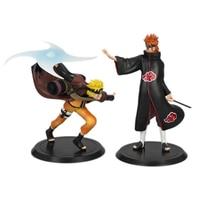 Yahiko & Naruto Model Doll for Naruto 18CM Creative Toy Naruto Hand To Do Decoration PVC Model De Juguete
