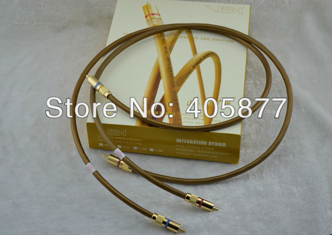 Pair viborg audio Integration Hybrid audio RCA interconnects Cable With original box new 2M pair free shipping viborg ve511 vf511 one pair 99 998
