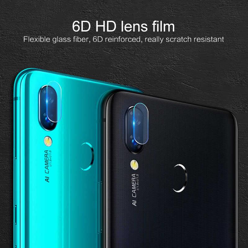 ด้านหลังกล้องเลนส์ป้องกันฟิล์มสำหรับ HuaWei P20 Lite Mate 20 X P20 Pro Honor ดู 10 Lite P smart Plus กระจกนิรภัย