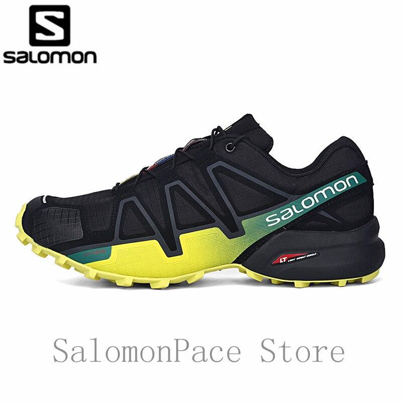 Salomon Hommes de Vitesse Croix 4 Chaussures Cross-Country Shos Hommes Trail Runner Sports de Plein Air de Marche Speedcross 4 Randonnée Chaussures 40 -46