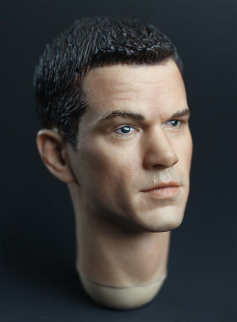 Mnotht Toys Custom 1/6 Scale Matt Damon Head Sculpt For Enterbay Hot Toys Phicen Body 12in Action Figures L30 mnotht 1 6 male solider new clown head carving mj12 top edition heath ledger head sculpt for 12in action figures l30