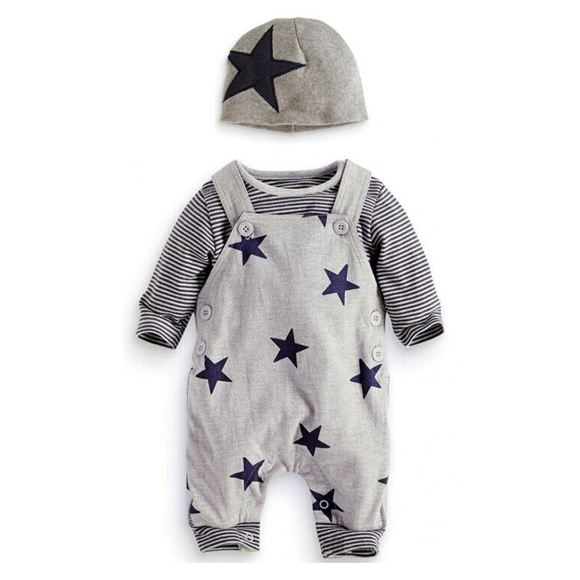 3PCS Baby Girl Clothing Set Spring Baby Rompers Cotton Baby Boy Clothes Long Sleeve Infant Jumpsuits Roupas Bebe Kids Clothes baby rompers long sleeve baby boy girl clothing jumpsuits children autumn clothing set newborn baby clothes cotton baby rompers