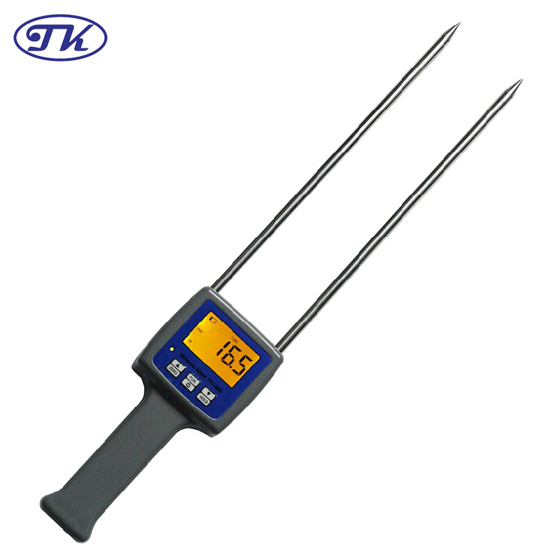 TK100G Flour Digital Grain Moisture Meter For Flour oF Wheat/Rye/Corn/Paddy/Coffee/Peas/Oats system of wheat intensification swi new trend of wheat cultivation