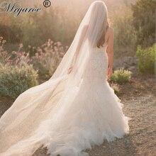 Desconto de Alta Qualidade Elegante Do Casamento Véu de 3 Metros Uma Camada véu Longo casamento Véus de Noiva Com Pente Acessórios Do Casamento voile(China (Mainland))