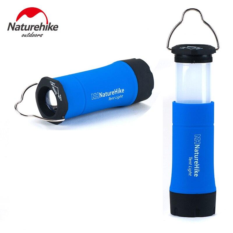 NatureHike Portable Mini CREE R2 LED Clignotant Zoomables Camping Lanterne Extérieure LED Tente Lumière Lampe Avec 3 Modes de Travail