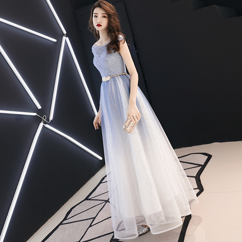 Sequins Gradient  Lace  sexy Slim party dress evening dress Female Chinese Style Dress Improved Qipao Size S-3XL