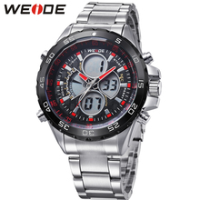 Fashion Brand WEIDE Military Sport Watch Men Digital Quartz Movement LED Display Water Resistant Man Wristwatches Orologio Uomo