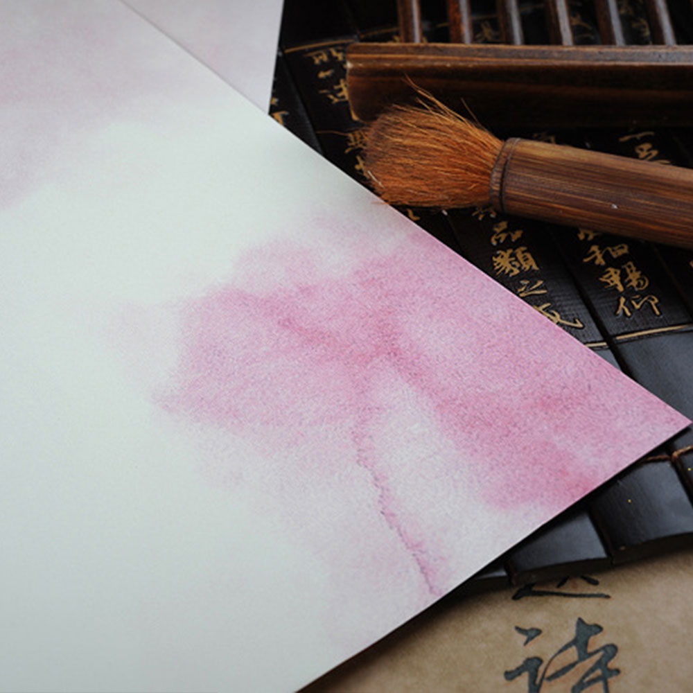 8 шт. бумажные открытки в китайском стиле, бумажные конверты, Подарочные элегантные канцелярские принадлежности, чистые и свежие