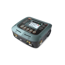 SKYRC Q200 1 a 4 Inteligente Cargador/Descargador de AC/DC para Lipo/LiHV/de Litio-hierro/Lithium Ion/NiMH/NiCD/Batería de Plomo-ácido