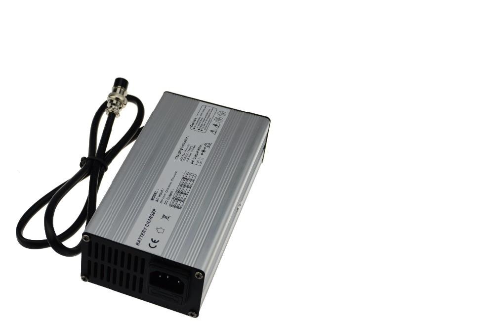 Coque en aluminium 72 V (84 V) 2.5A E-bike LiPo batterie charger-84 Volts Ampères 20 S Li-Ion batterie chargeur