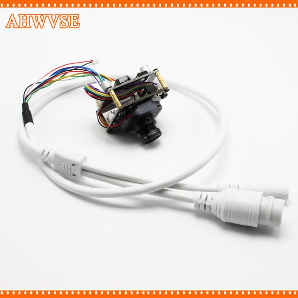 AHWVSE High Resolution 2 8mm 16mm lens 1920 1080P 720P 960P HD POE IP camera module