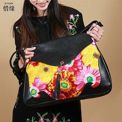 XIYUAN BRAND HOT SALE 2017 Women Messenger Bags Fashion big female shoulder Bags With daisy Bag Women hand Bags for girls