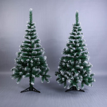 Искусственная Цветочная Рождественская елка снежинка Рождественская пластиковая елка 120 см Новогоднее домашнее украшение настольные украшения Рождественская елка