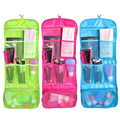 Make Up Cosmetic Bag Case Women Makeup organizer Hanging Toiletries Travel Kit Jewelry Organizer Cosmetic Case 25.4*10.2 inch