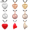 Hot Seller 12 Styles Simple Design Silver Plated Angels Callers Mexican Bola Pendant For Pregnant Women Chime Necklace