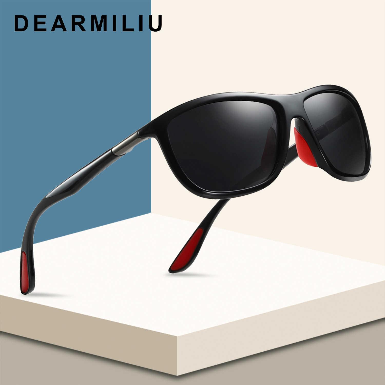 acb585d7f2f DEARMILIU BRAND DESIGN Classic Polarized Sunglasses Men Women Driving Square  Frame Sun Glasses Male Goggle UV400