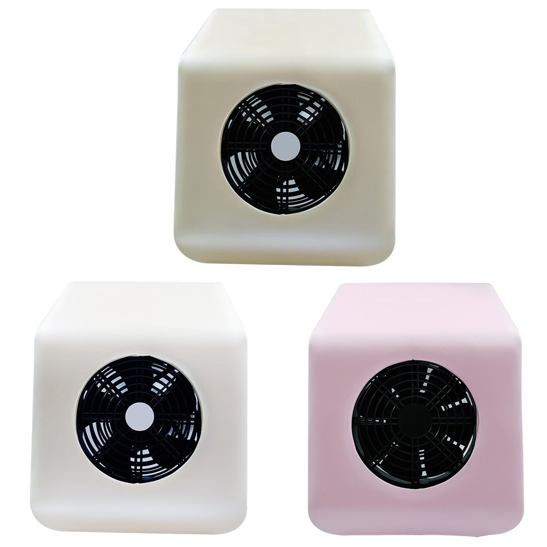Haute Qualité 220 v/110 v Nail Collecteur de Poussière Nail Fan Acrylique UV Gel Sèche Linge Art Salon Aspiration collecteur de poussière Vide 30 w