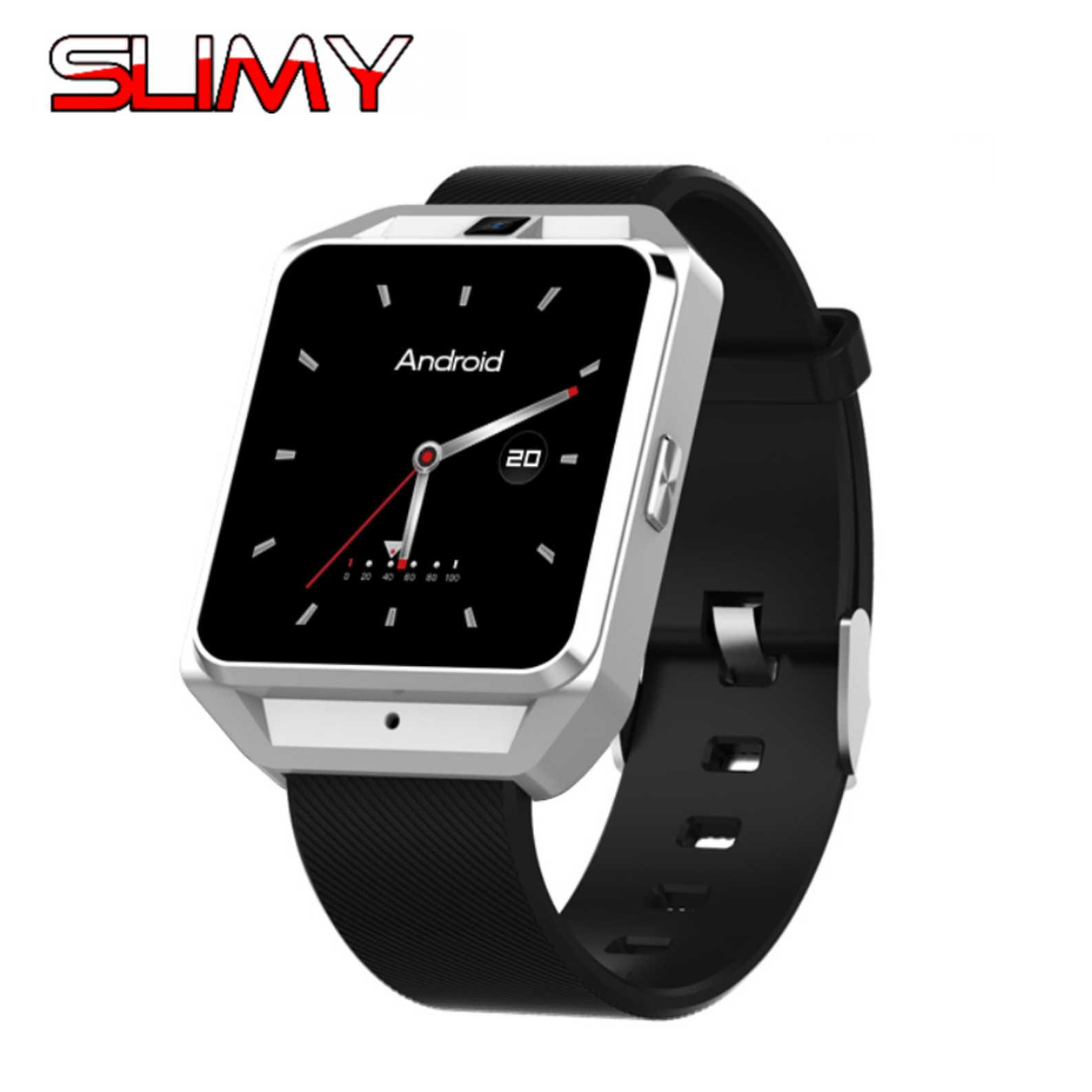 Slimy 4G Smart Watch SH05 with Android 6 0 OS WCDMA WiFi Bluetooth SmartWatch GPS Heart