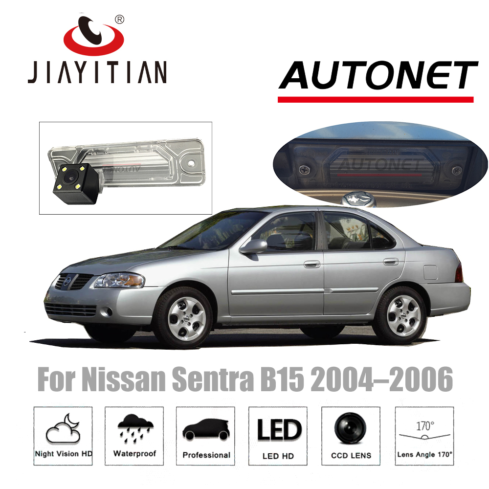 JiaYiTian rear view camera For Nissan Sentra B15 2004 2005 2006 SE R Spec V CCD