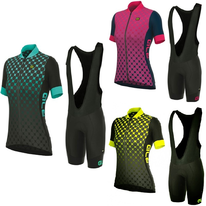 Ropa ciclismo mujer 2018 summer short sleeve cycling jersey set women's breathable cycling bicycle clothes cycle bib shorts kit 2015 monton ropa ciclismo mujer luoli 5 203
