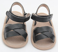 2017 summer fashion black Roman girls baby leather sandals kids gladiator sandals  baby sandals girls high quality shoes