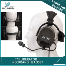 Z-Tactical Z-TAC Airsoft TCI Liberator II Neckband Headset Military Sordin Noise Canceling Hunting Headphones Softair