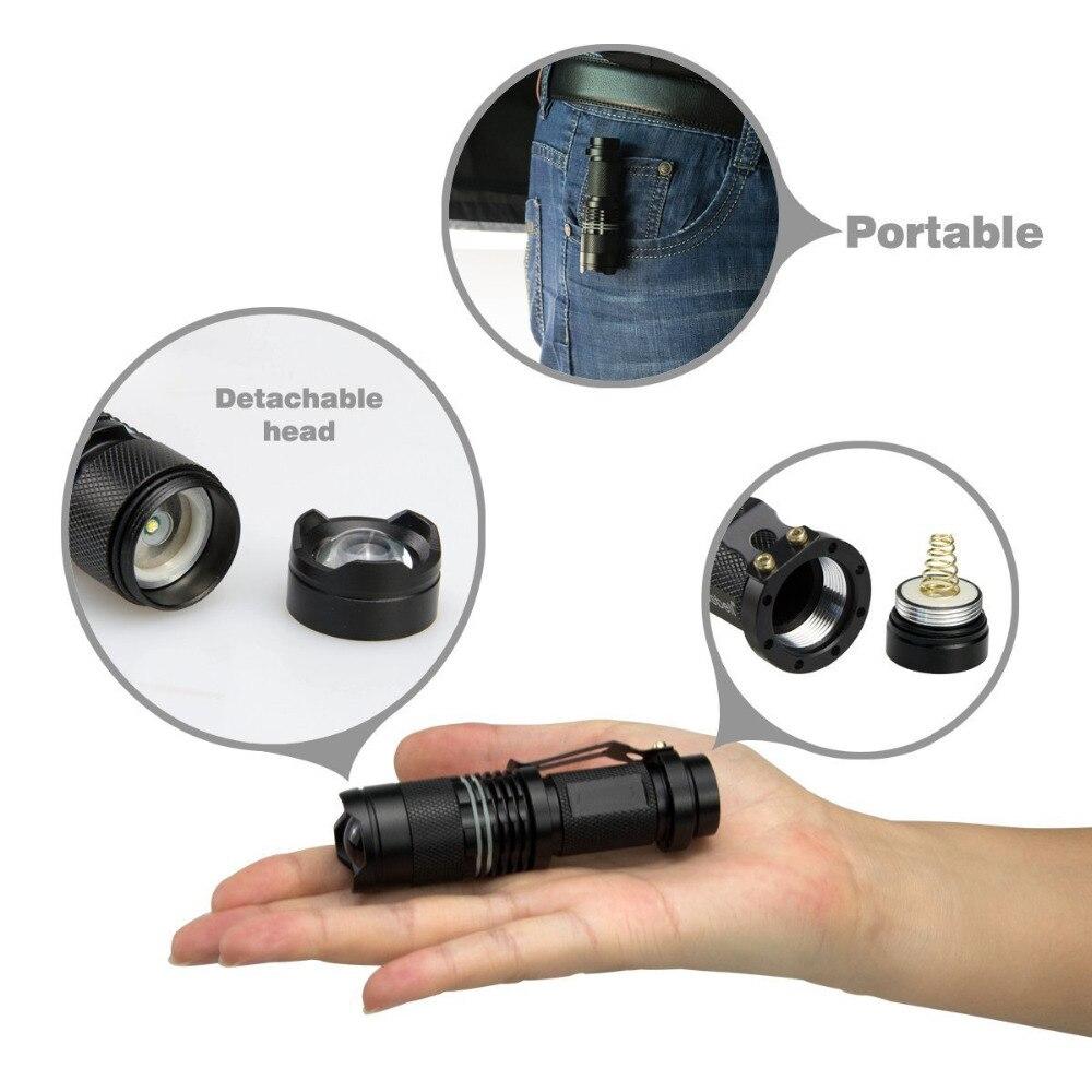 Lanternas e Lanternas poppas zoom cree t6 xml Carregador : Não Aplicável