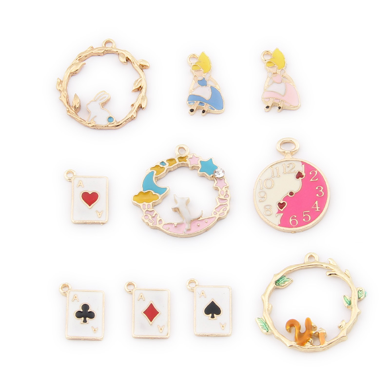 wholesale Vintage Golden Alloy Coffee Cup Pendants Charms Crafts Findings 40pcs