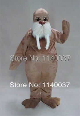 Mascotte marron clair morse mascotte Costume personnage de dessin animé carnaval costume fantaisie Costume fête