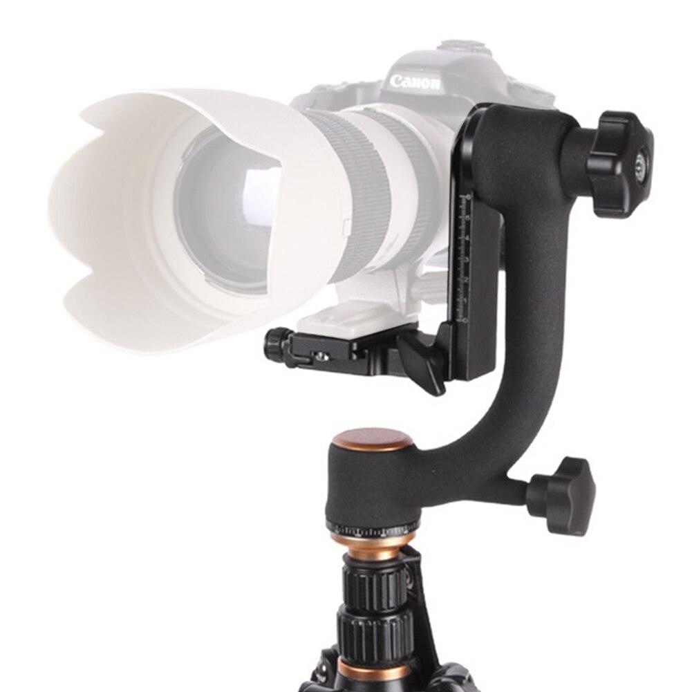 Q45 Professional Camera Tripod Panoramic 360 Degree Vertical Pro Gimbal Tripod Head 1/4 Screw for Camera Support 20KG