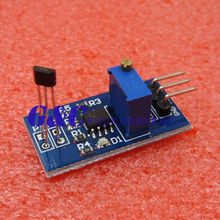 цена на Hall switch sensor module Motor speed test For Magnetic Detect Car lm393
