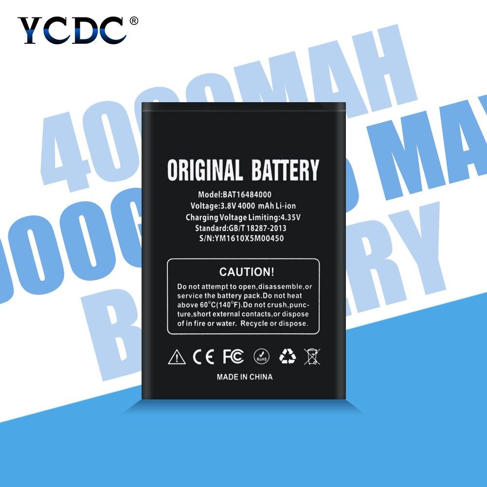 Bateria recarregável 4000 mAh BAT16484000 X5 Telefone Substituição Baterias de Iões De Lítio Li Bateria Para DOOGEE Max X5 Max Pro