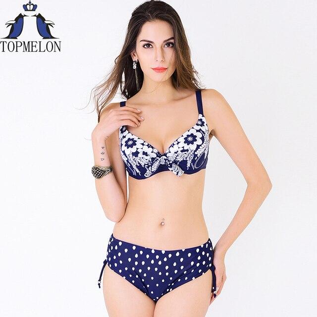 Women Bikini Female Large Size Swimwear Bathing Suit