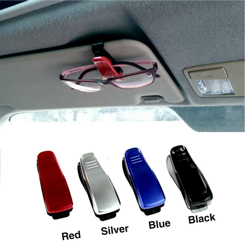 цена на GLCC Car Eyeglasses Holder Clip Sunglasses Holder Frame Universal Car Styling Glasses Clip Automobiles Accessories
