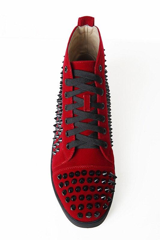 Botines Negro Moda Eunice as Rojo Remache Hombre Hombres Amantes Rosa Encaje La Picture Tamaño Cuero Botas Picture De Sneakers Choo Solid As Más Hasta S70qXS
