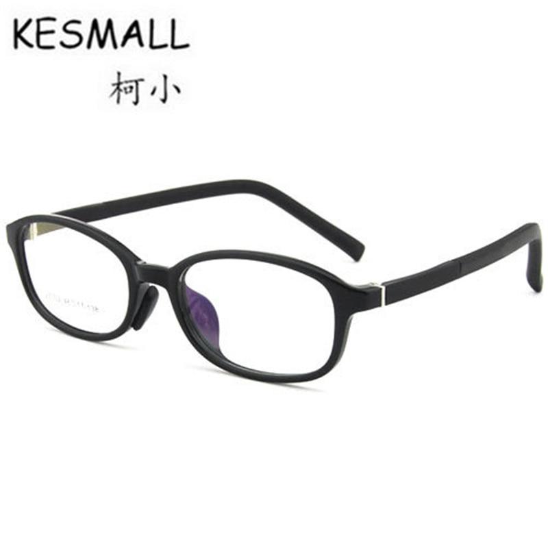 KESMALL New TR90 Children Gaming Glasses Frame Fashion Clear Lens Eyeglasses Frames Boy Girl Ultra-Light Myopia Eyewear XN256