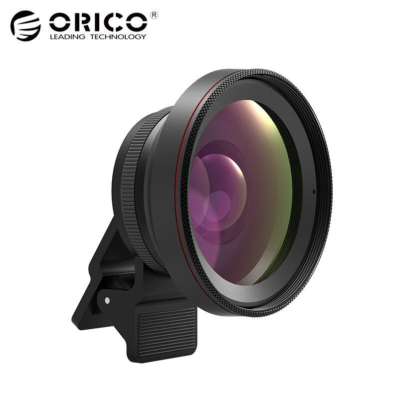 ORICO Handy Kameraobjektiv 2 in 1 0.6X Breite winkel Objektiv mit Clip 15X Makro HD Universal Für Android Für iPhone
